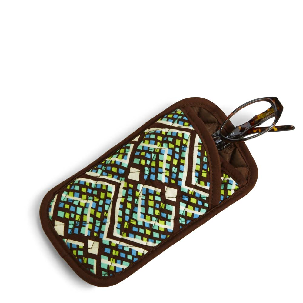 Vera Bradley Double Eye Case in Rain Forest