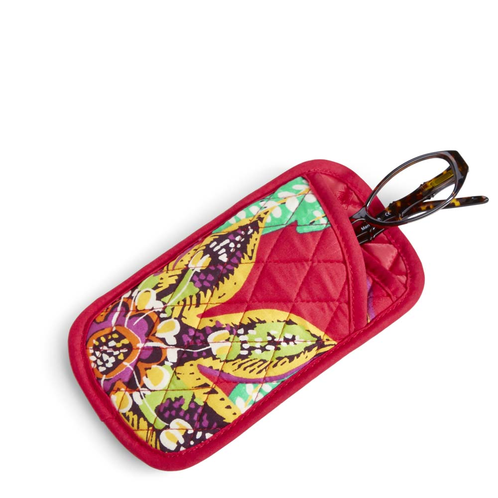Vera Bradley Double Eye Case in Rumba