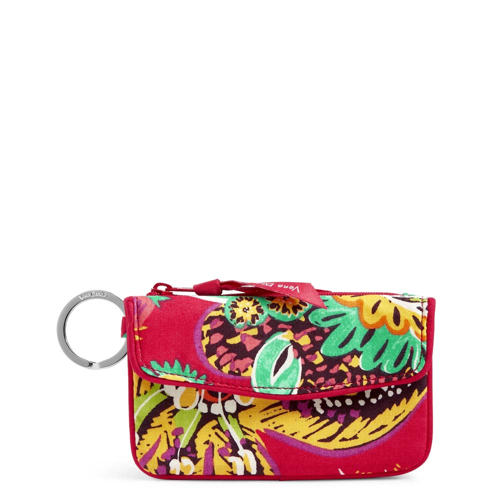 Vera Bradley Jen Zip ID Case in Rumba