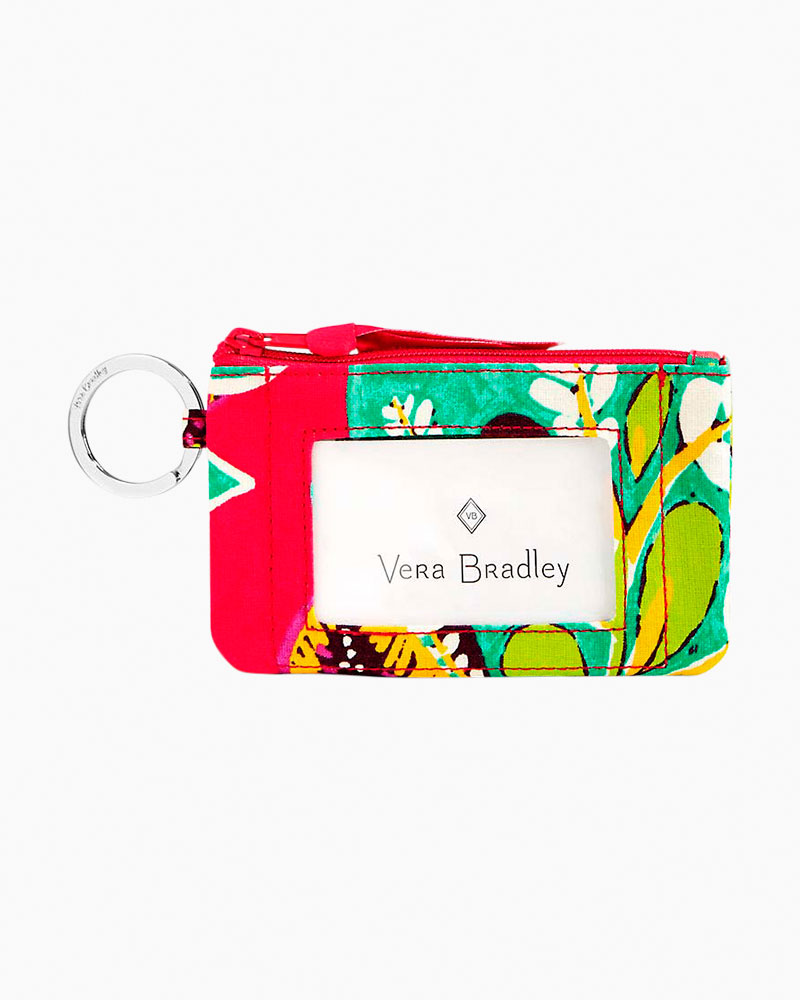 Vera Bradley Zip ID Case in Rumba