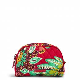 Vera Bradley Small Zip Cosmetic in Rumba