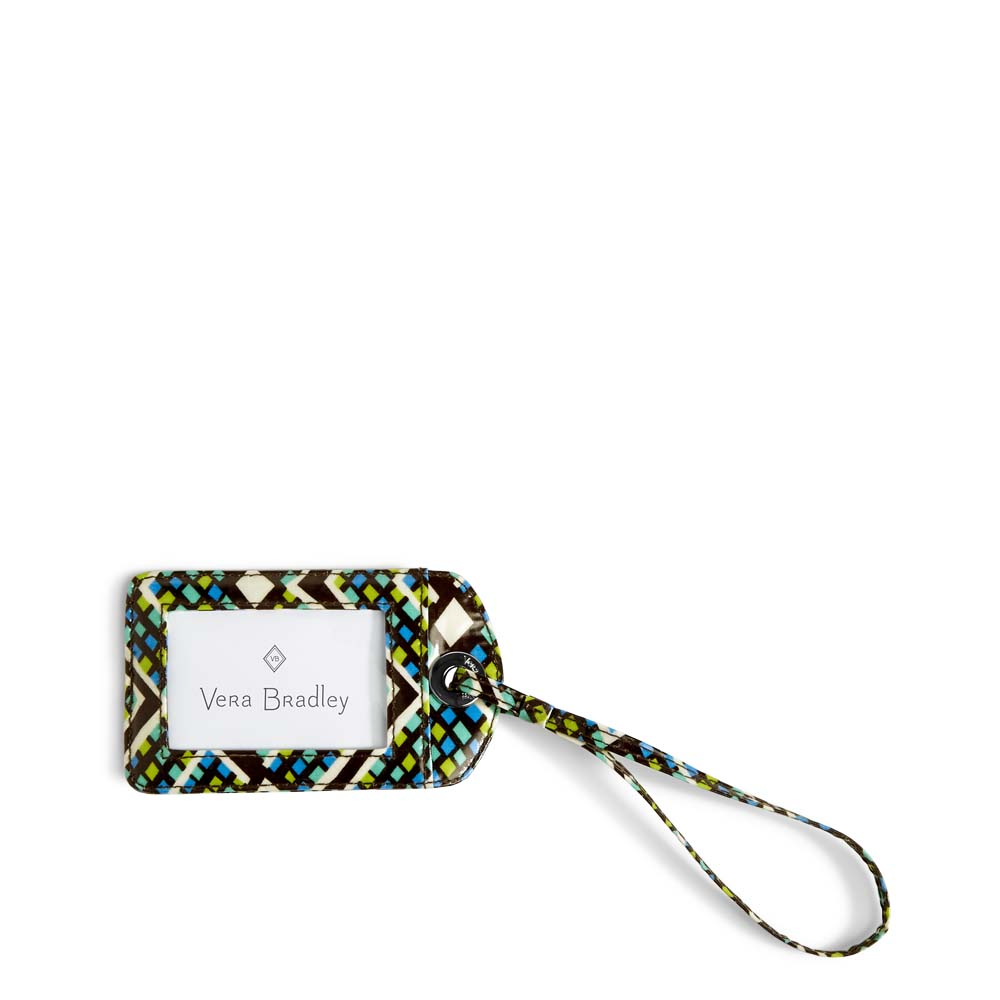 Vera Bradley Luggage Tag in Rain Forest
