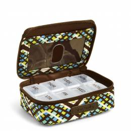 Vera Bradley Travel Pill Case in Rain Forest