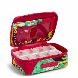 Vera Bradley Travel Pill Case in Rumba