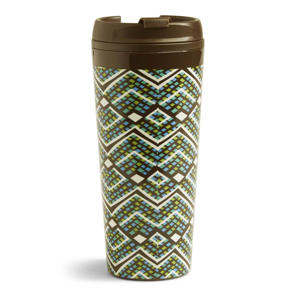 Vera Bradley Travel Mug in Rain Forest