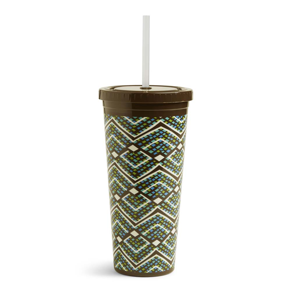Vera Bradley Travel Tumbler in Rain Forest