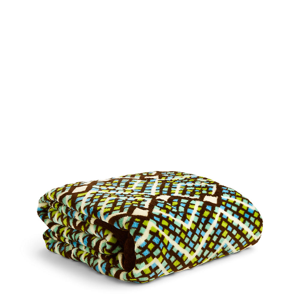Vera Bradley Throw Blanket in Rain Forest