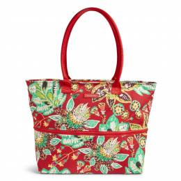 Vera Bradley Expandable Travel Tote in Rumba