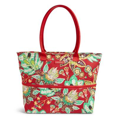 Expandable Travel Tote in Rumba