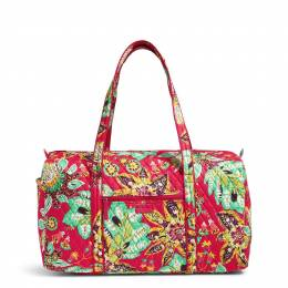 Vera Bradley Large Duffel Travel Bag in Rumba