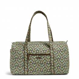 Vera Bradley Large Duffel Travel Bag in Rain Forest