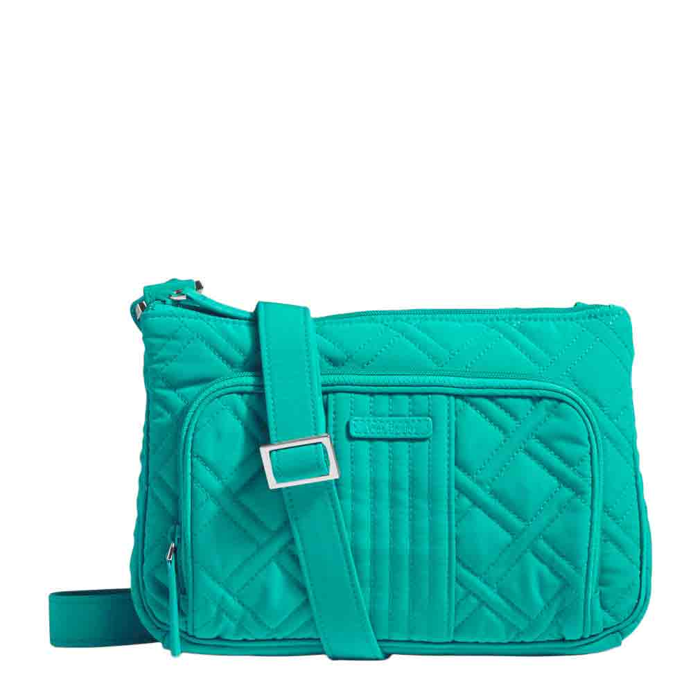 Vera Bradley Little Hipster Crossbody in Turquoise Sea
