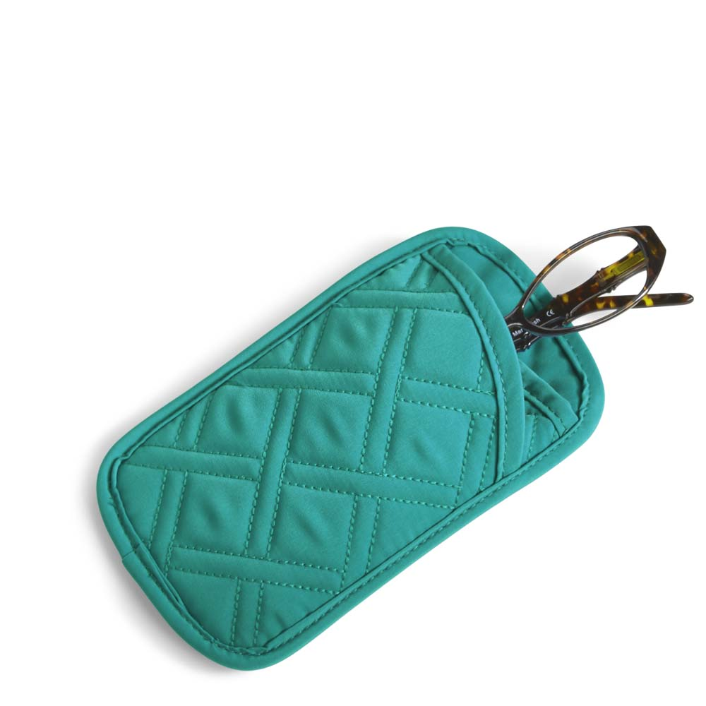 Vera Bradley Double Eye Case in Turquoise Sea