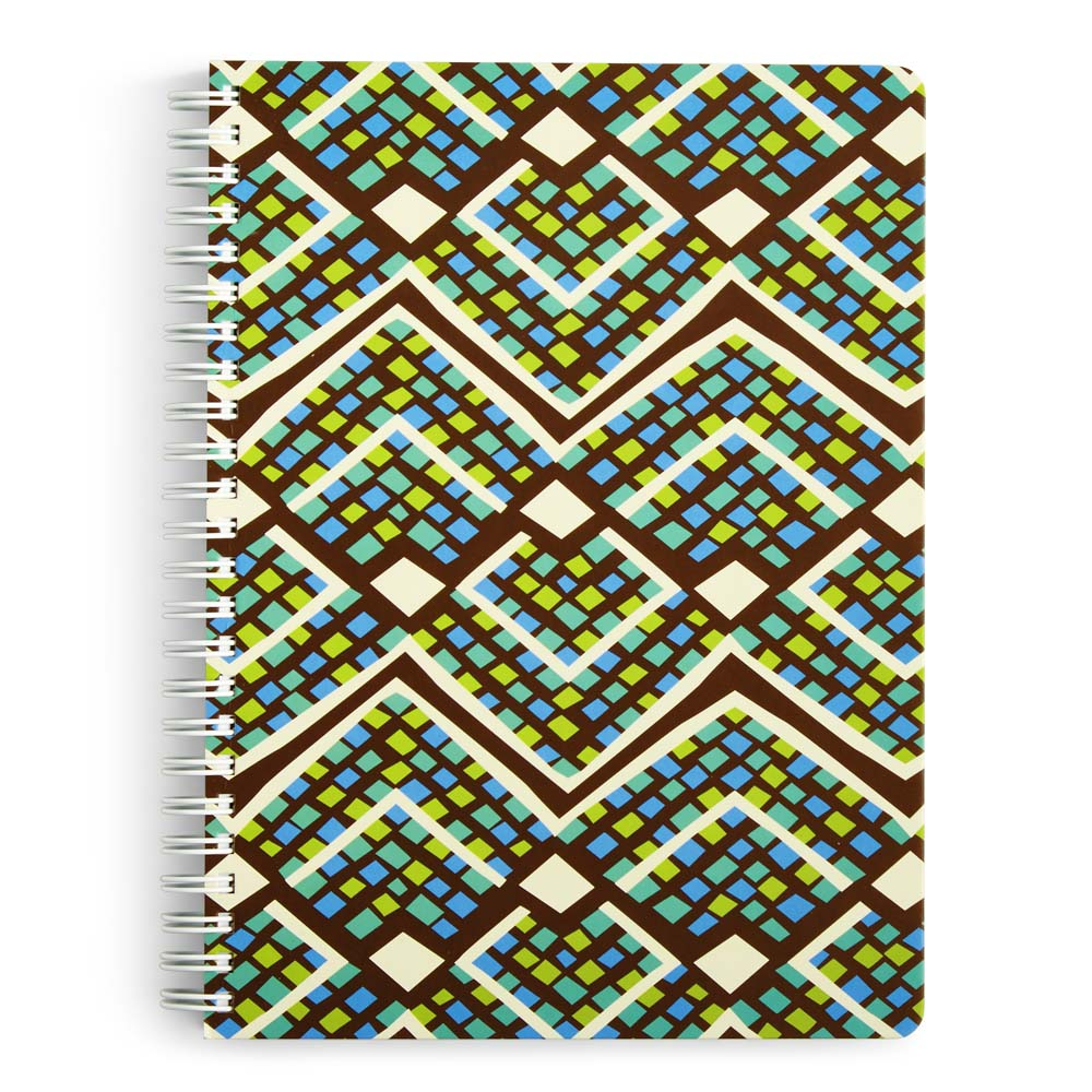 Vera Bradley Mini Notebook with Pocket in Rain Forest