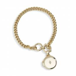 Vera Bradley Collect Beautiful Moments Gold Tone Bracelet