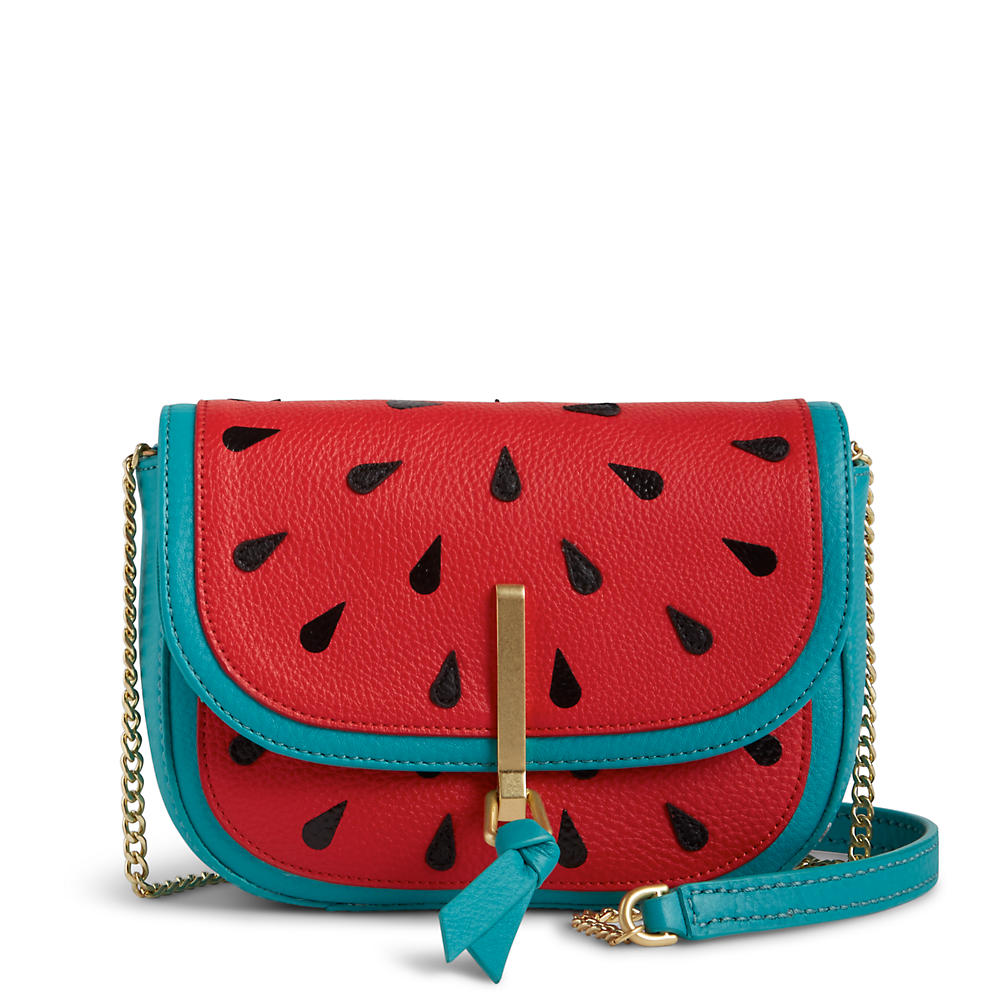 Vera Bradley Mini Saddle Bag in Sycamore Watermelon Slice