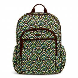 Vera Bradley Campus Tech Backpack in Rain Forest