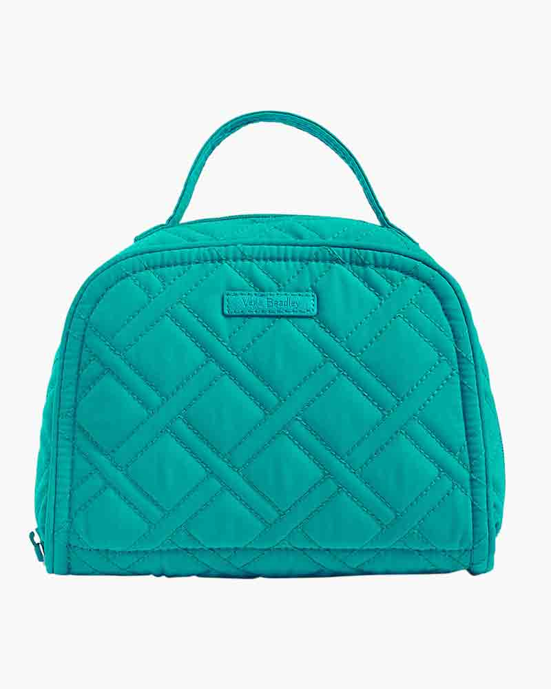 Vera Bradley Travel Jewelry Organizer in Turquoise Sea