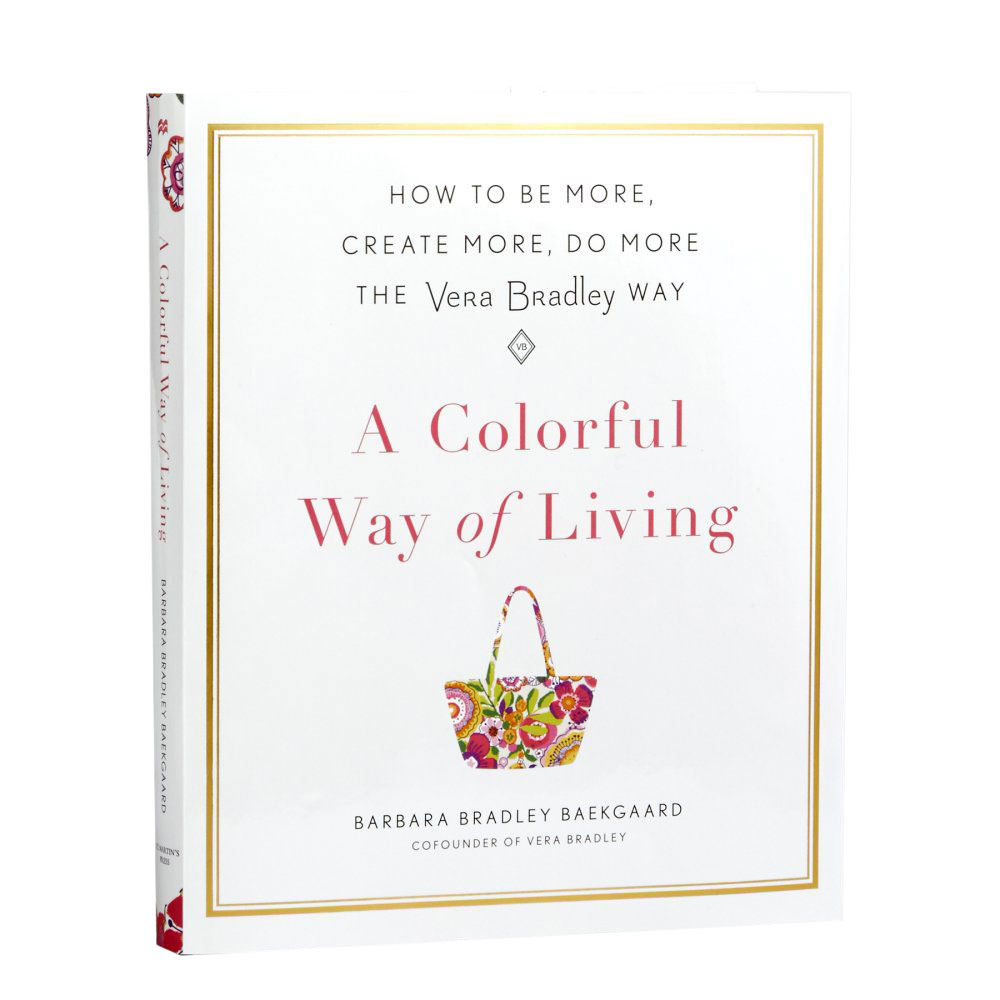 Vera Bradley A Colorful Way of Living Book