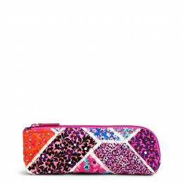Vera Bradley Brush & Pencil Case in Modern Medley