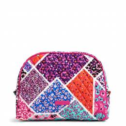 Vera Bradley Large Zip Cosmetic in Modern Medley