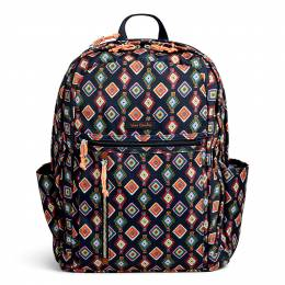 Vera Bradley Lighten Up Grand Backpack in Mini Medallions