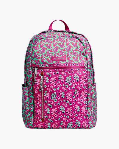 Small Backpack in Ditsy Dot