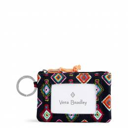 Vera Bradley Lighten Up Zip ID Case in Mini Medallions