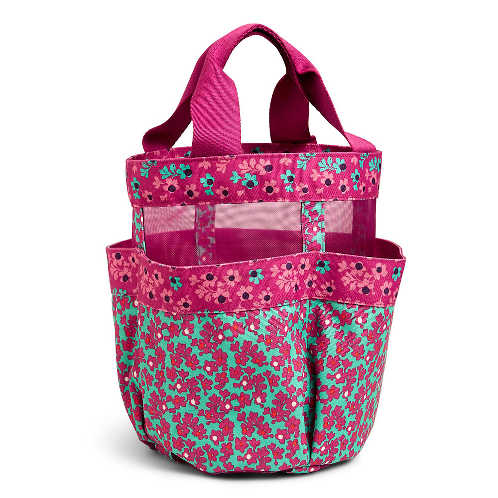 Vera Bradley Shower Caddy in Ditsy Dot | The Paper Store