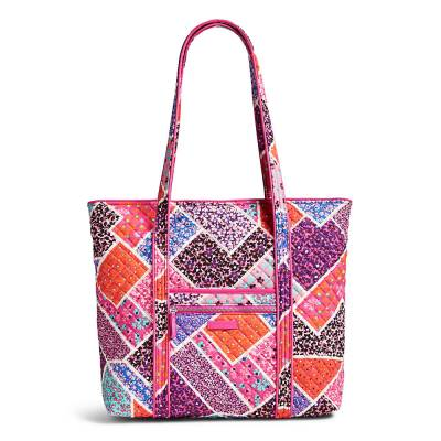 Iconic Vera Tote in Modern Medley