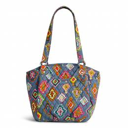 Vera Bradley Glenna Shoulder Bag in Painted Medallions
