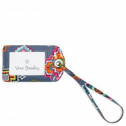 Vera Bradley Luggage Tag in Painted Medallions