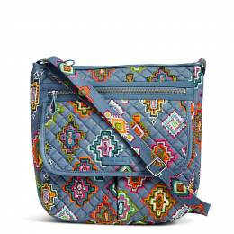 Vera Bradley Iconic Mailbag in Painted Medallions