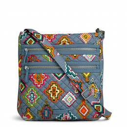 Vera Bradley Iconic Triple Zip Hipster in Painted Medallions