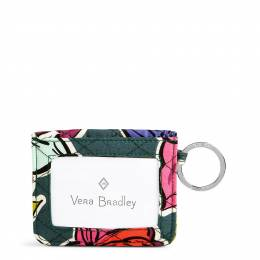 Vera Bradley Iconic RFID Campus Double ID in Falling Flowers