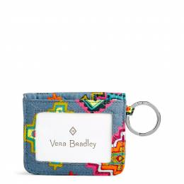 Vera Bradley Iconic RFID Campus Double ID in Painted Medallions