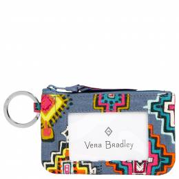 Vera Bradley Zip ID Case in Painted Medallions