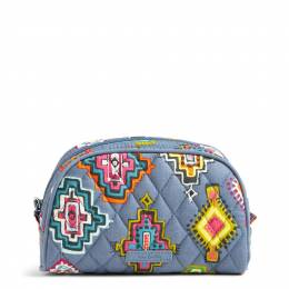 Vera Bradley Small Zip Cosmetic in Painted Medallions