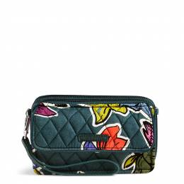 Vera Bradley RFID All in One Crossbody in Falling Flowers