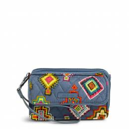 Vera Bradley RFID All in One Crossbody in Painted Medallions