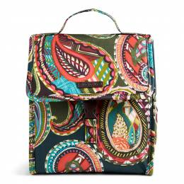 Vera Bradley Lunch Sack in Heirloom Paisley