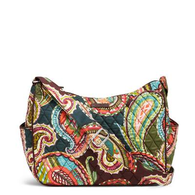 On the Go Crossbody in Heirloom Paisley