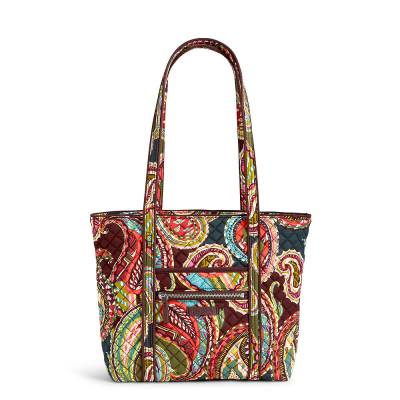 Iconic Small Vera Tote in Heirloom Paisley