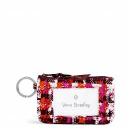 Vera Bradley Zip ID Case in Houndstooth Tweed