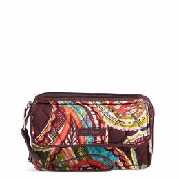 Vera Bradley RFID All in One Crossbody in Heirloom Paisley