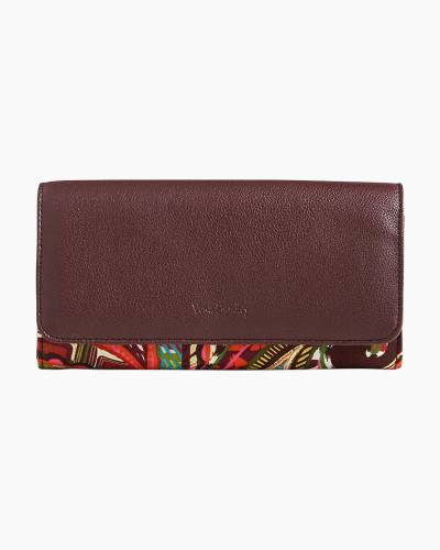 RFID Audrey Wallet in Heirloom Paisley