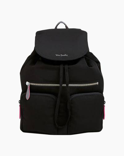 Midtown Cargo Backpack in Preppy Poly Black