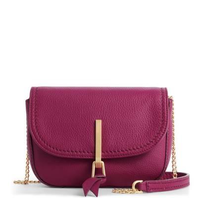Carson Mini Saddle Bag in Wild Berry