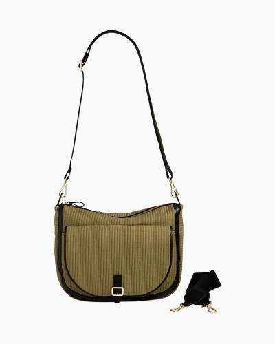 Carson Shoulder Bag in Cactus Green