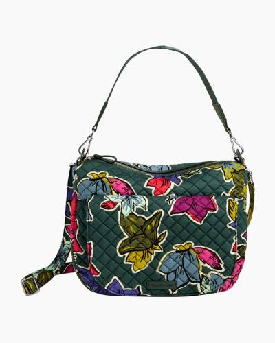 Carson Shoulder Bag in Falling Flowers
